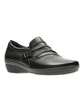 6006a58d087 Product Image Women s Clarks Everlay Heidi Monkstrap. Product Variants  Selector. Black Full Grain Leather