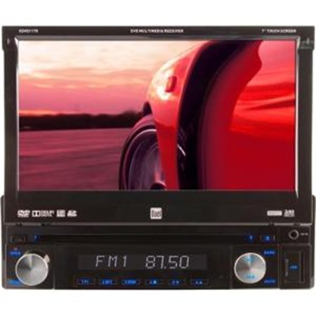 "Namsung Car DVD Player - 7"" Touchscreen LCD Display - 800 x 480 - 72 W RMS - iPod/iPhone Compatible - In-dash"