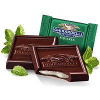 Ghirardelli Bulk Dark Chocolate Mint Squares (5 pound)