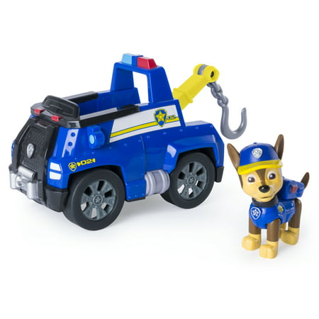 Paw Patrol - Chase's Tow Truck - Figure and Vehicle - Halloween Tow Truck