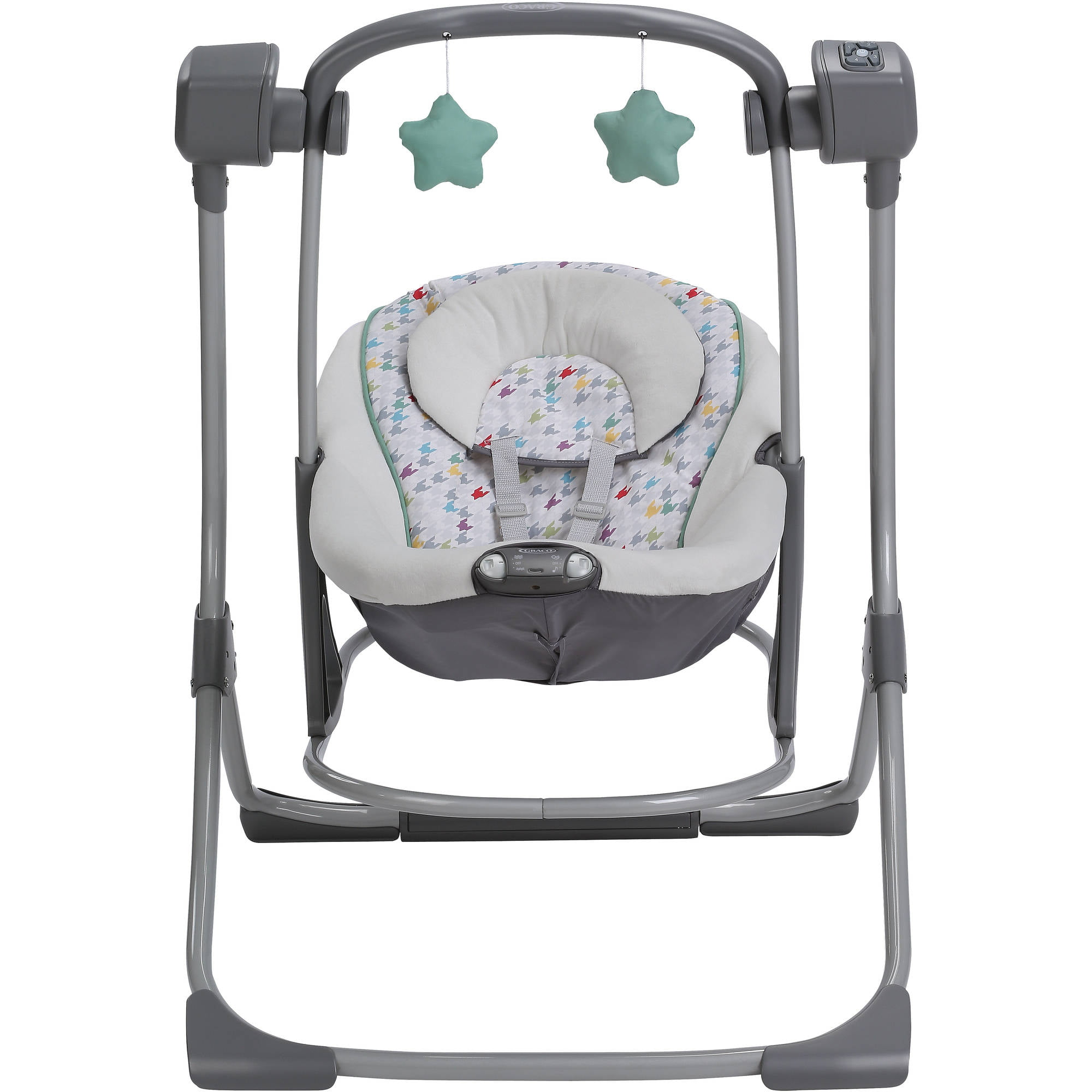 b8bcccf839ad Graco Cozy Duet Baby Swing and Rocker