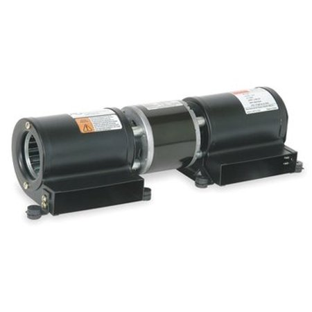 Low Profile Blowers - Dayton Model 3FRF8 Low Profile Blower 230V for Fireplace or Wood Stove