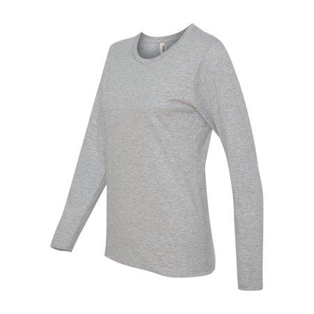 Anvil T-shirt Hat - Anvil - Women's Lightweight Ringspun Long Sleeve T-Shirt - 884L
