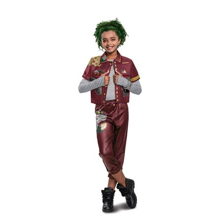 Disney Zombies Deluxe Eliza Girls Halloween Costume with Makeup Kit Set