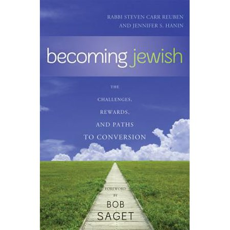 Becoming Jewish - eBook Becoming Jewish is the first all-inclusive, step-by-step guide to converting to Judaism. Steven Carr Reuben, a highly respected rabbi, and Jennifer S. Hanin, a convert to the faith, lead readers through the conversion process, providing the right mix of advice, resources and humor for the journey.Jews-to-be often find the steps to Judaism foreign, complex, and mysterious. From learning an ancient language, to entering the mikvah (ritual bath), to choosing a Hebrew name, to circumcision, to appearing before a bet din (Jewish court), becoming a Jew is anything but quick and easy. In this engaging and accessible guide, Reuben and Hanin offer practical wisdom for every step of conversion, including:telling family and friendsselecting a denominationchoosing a rabbiunderstanding Jewish ritualscelebrating Jewish holidaysputting aside childhood holidayskeeping ties to the pastadvice on weddings, raising kids, and moreThroughout, the authors focus on developing a healthy spiritual life, while helping readers understand what it means to be Jewish, absorb Jewish teachings, and live a Jewish life.