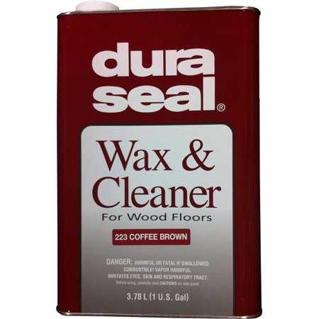 Wax Seal Bottles - DURA SEAL 1gl Coffee Brown Wax and Cleaner