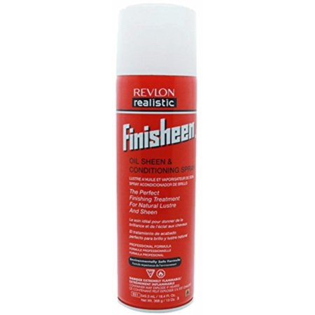 Shine Spray - Revlon Realistic Finisheen Instant Shine Spray 13 oz