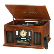 Best Record Players - Victrola Wood 8-in-1 Nostalgic Bluetooth Record Player Review
