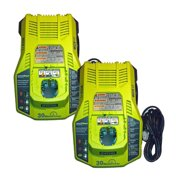 Ryobi ONE Plus Replacement (2 Pack) 18V IntelliPort 1-Hour NiCad Battery Charger # 140185010-2PK