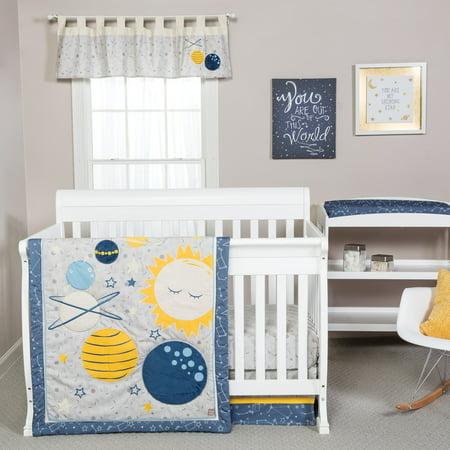 Trend Lab Galaxy 3 Piece Crib Bedding - Trend Lab Infant Toy Bag