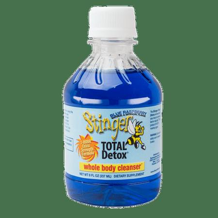 Stinger Blue Raspberry 1 Hour Total Detox - 8oz