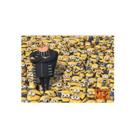 DESPICABLE ME 2, Gru & Minions , Officially Licensed, 3.5
