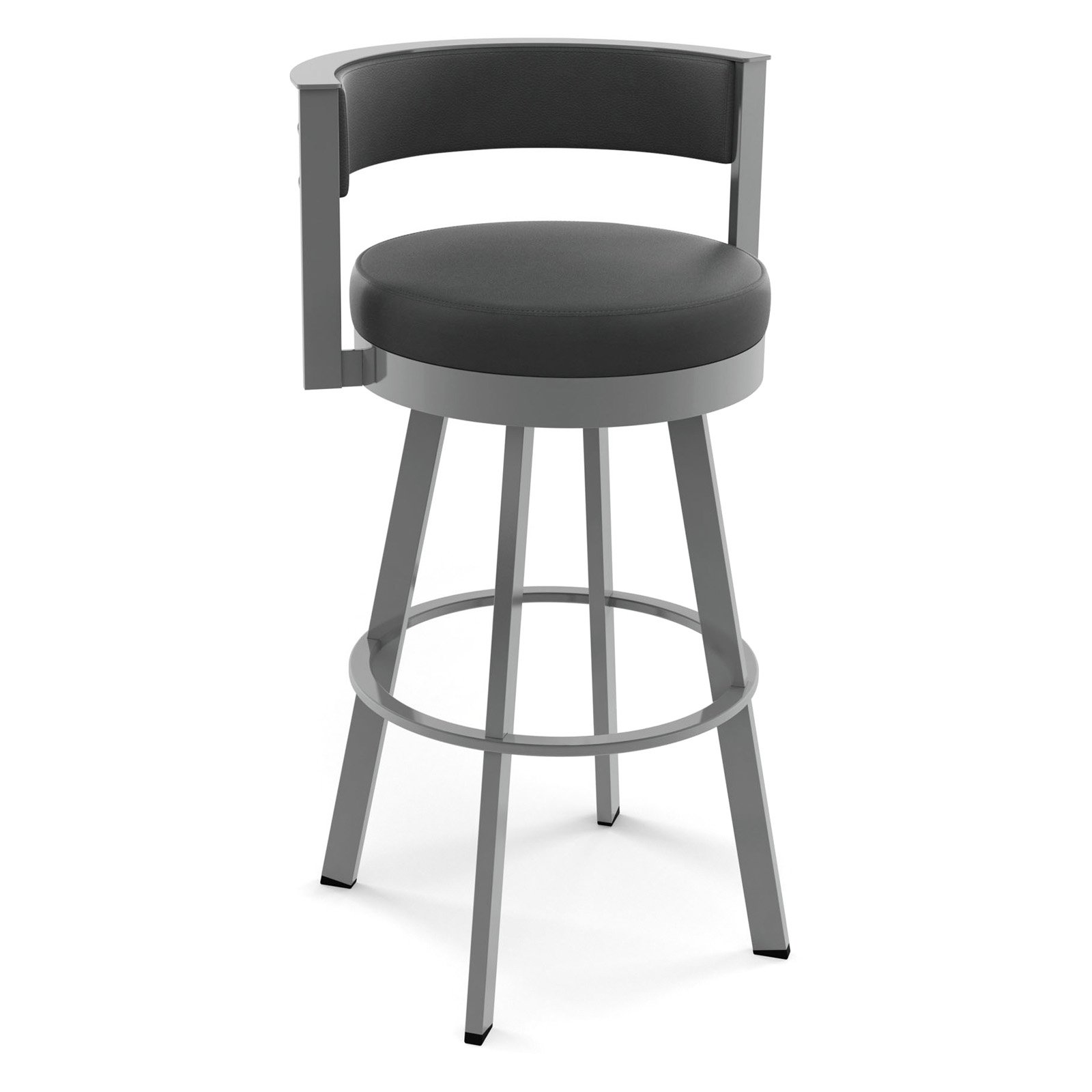 Amisco Browser 26 In Swivel Counter Stool Walmart Com
