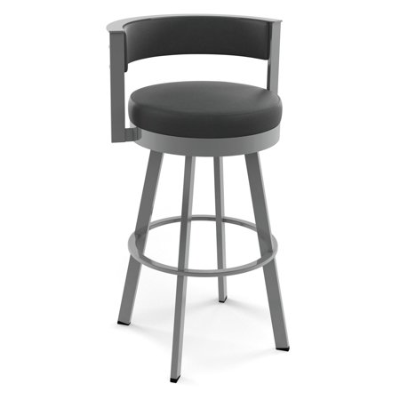 Amisco Browser 26 In  Swivel Counter Stool