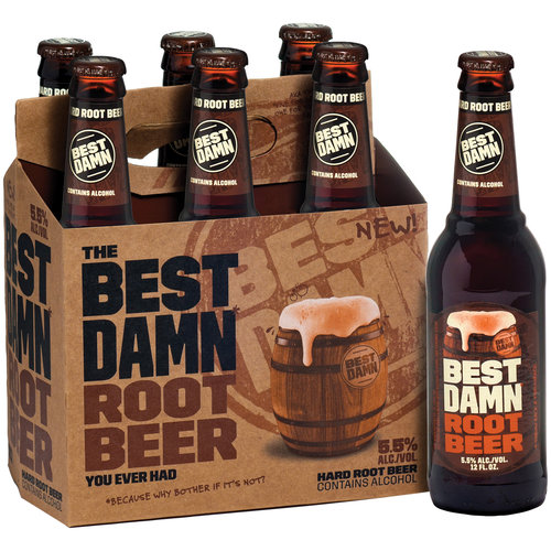 Best Damn Root Beer, 6 pack, 12 fl oz