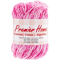 Home Cotton Yarn, Multicolored, Flamingo Splash