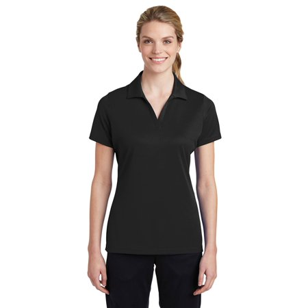 Sport-Tek Women's Breathable Polo Shirt_Black_L