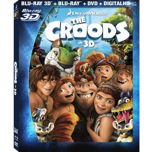 The Croods (Blu-ray 3D + Blu-ray + DVD + Digital HD) (With INSTAWATCH) (Widescreen)