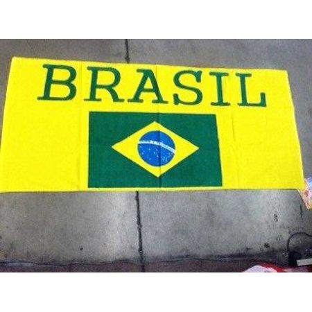 (FIFA World Cup National BRASIL Soccer Team Beach Towel, FIFA World Cup National Soccer Team By World Cup Soccer Team)