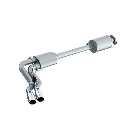 Mbrp Dual Exhaust - MBRP 15+ Ford F150 T304 Pre-Axle 4in OD Tips Dual Outlet 3in Cat Back Exhaust