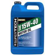 (6 pack) Super Tech Universal Motor Oil 15W40 1