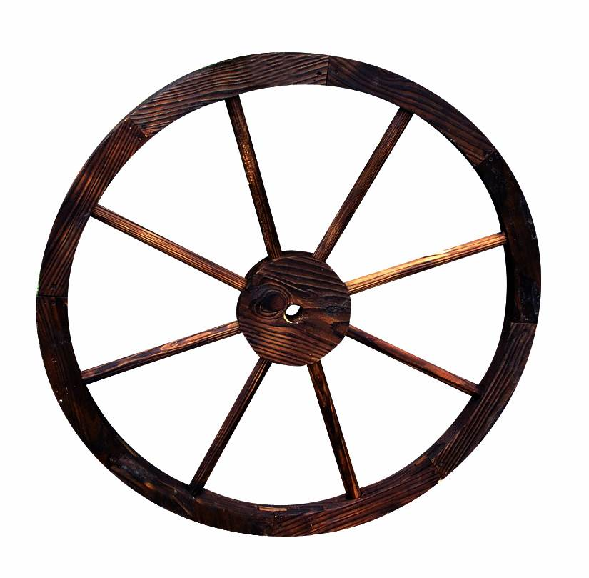 Decorative Wagon Wheel/Trellis