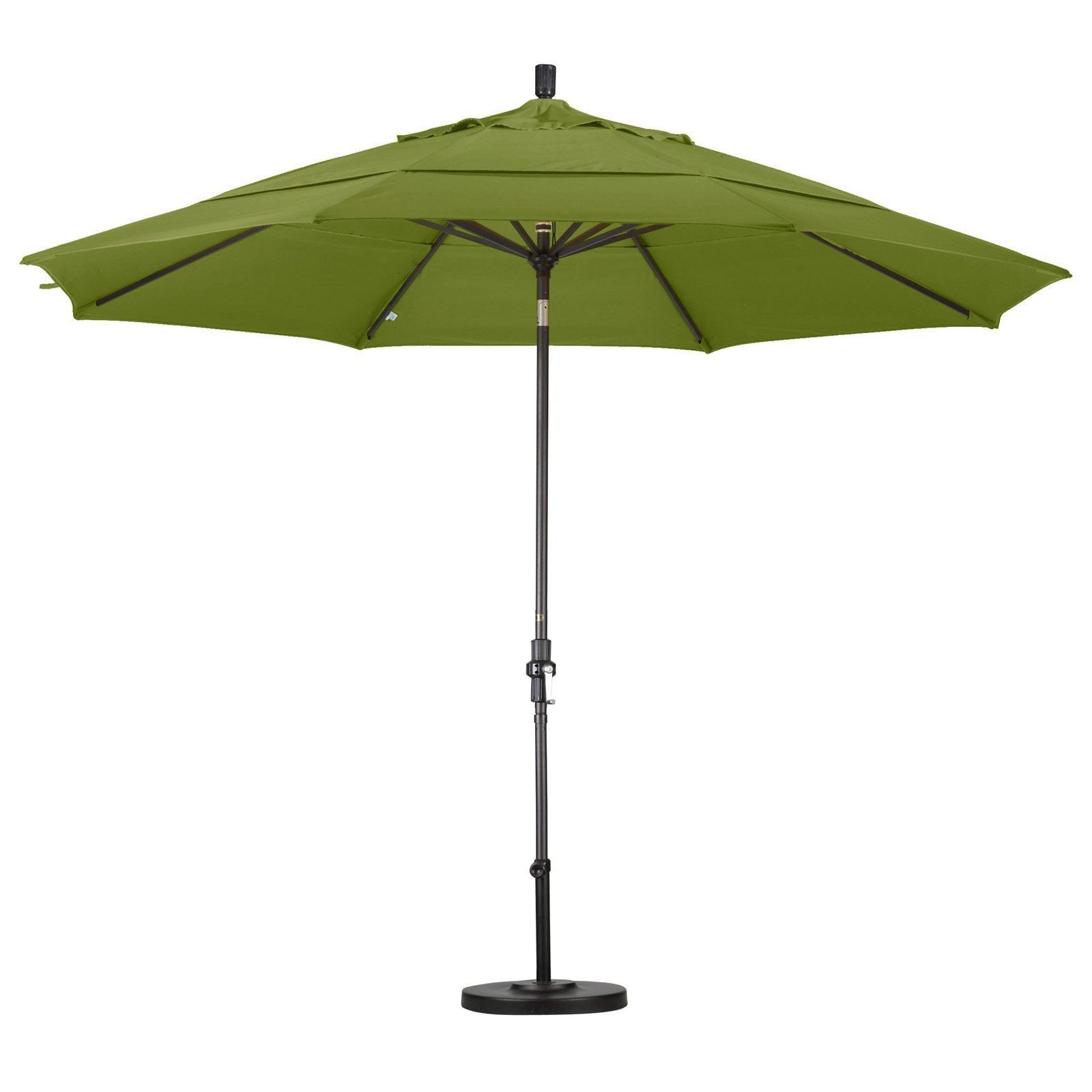 California Umbrella 11' Market Patio Umbrella in Tuscan