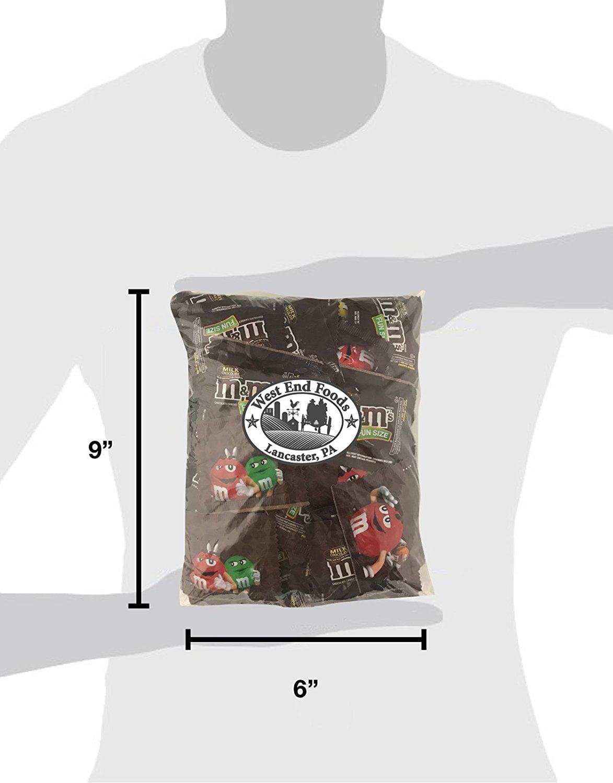 M&Ms Fun Size Milk Chocolate Bulk (3 Pound Bag) - Walmart.com