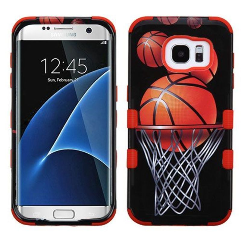 For Samsung Galaxy S7 Edge TUFF Hybrid Shockproof Phone Protector Case Cover