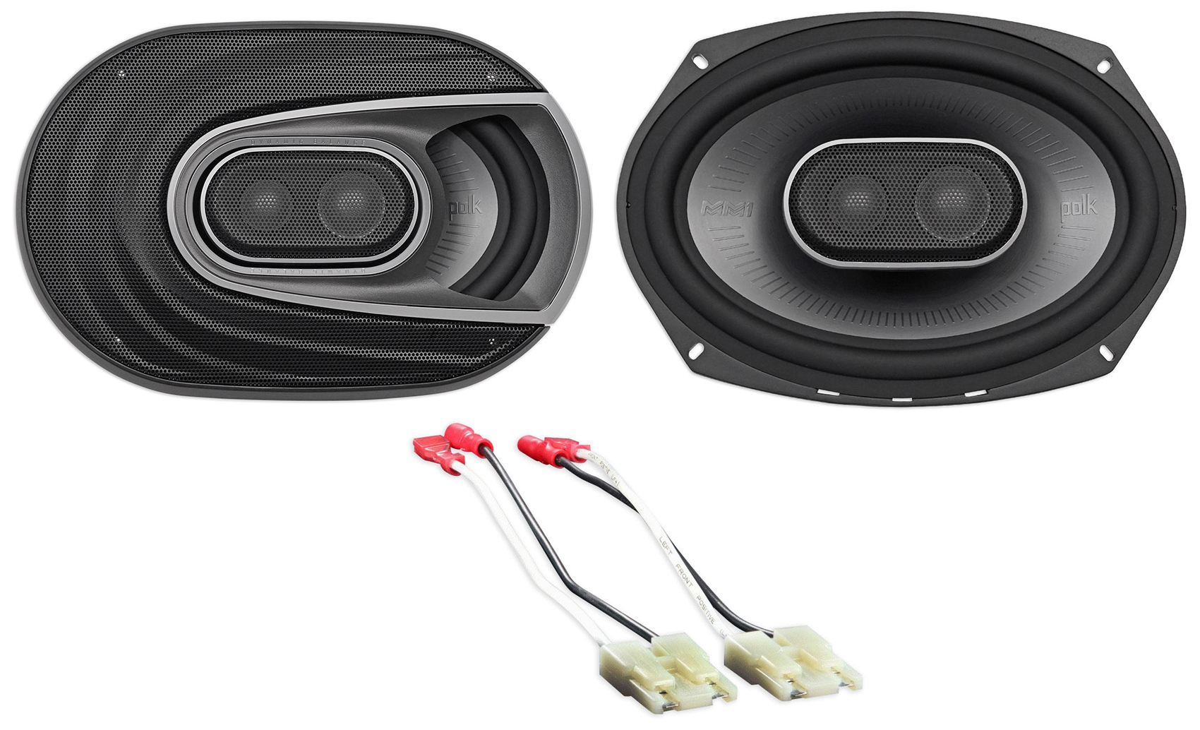 1999-2004 Jeep Grand Cherokee Polk Audio Front Factory Speaker Replacement Kit by Polk%27s Meat