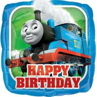 Thomas the Train Happy Birthday Foil Balloon