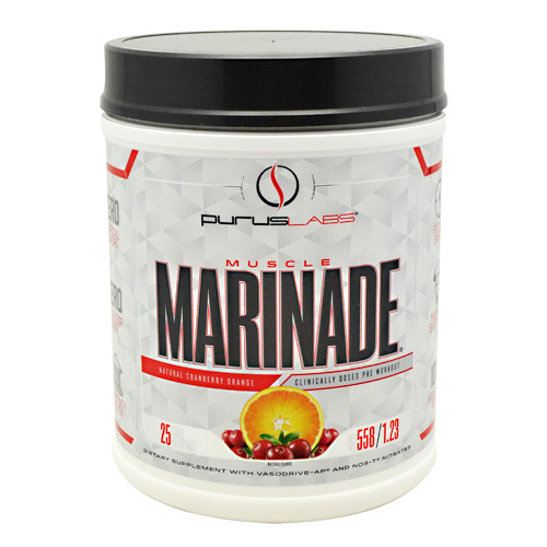 Purus Labs Muscle Marinade - Cranberry Orange - 25 Servings