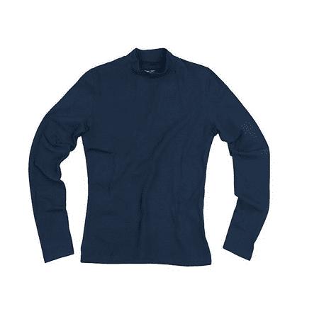Reebok Women's Long Sleeve Mock Collar Athletic Shirt, 2 Color Options