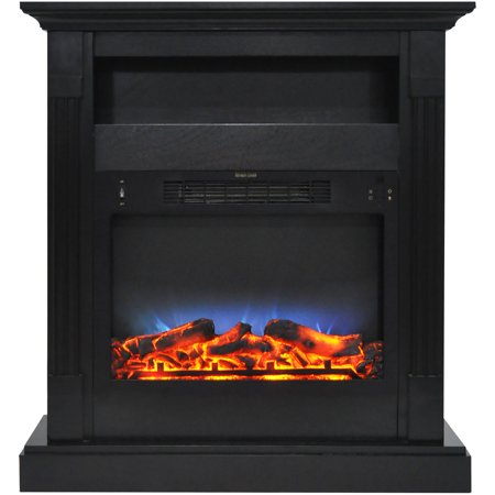 Cambridge Sienna 34 Quot Electric Fireplace Mantel Heater With