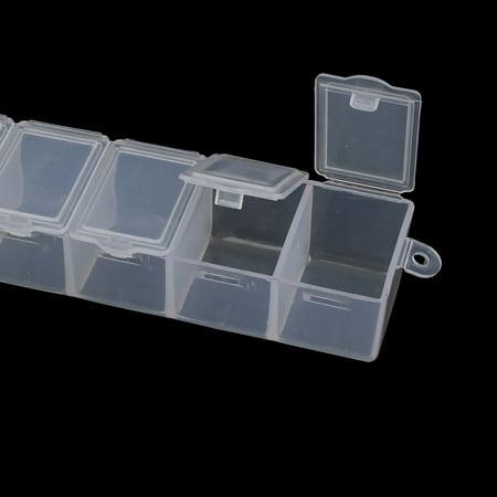 150mm Long 7 bijoux Portable Slot Stock conteneur Organisateur DIY fort - image 2 de 3