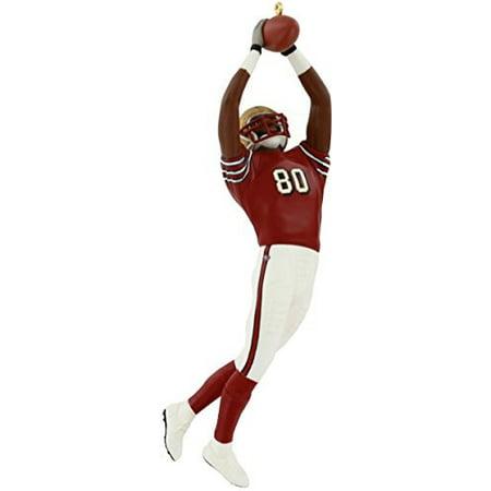 FOOTBALL #9 - JERRY RICE 49ERS 2003 Hallmark Ornament QX2457](Football Ornaments)