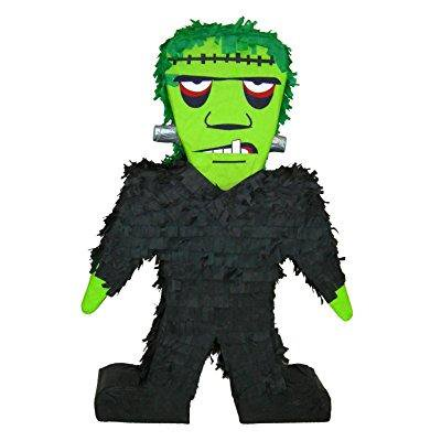 frankenstein halloween pinata, 20 party game, decoration and photo prop