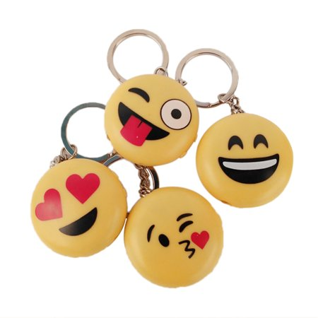 Creative Smiley Emoji Fool's Day Funny & Prank Tools, Electric Shock Toys with LED Lights and Laser Heart eyes - image 1 de 6