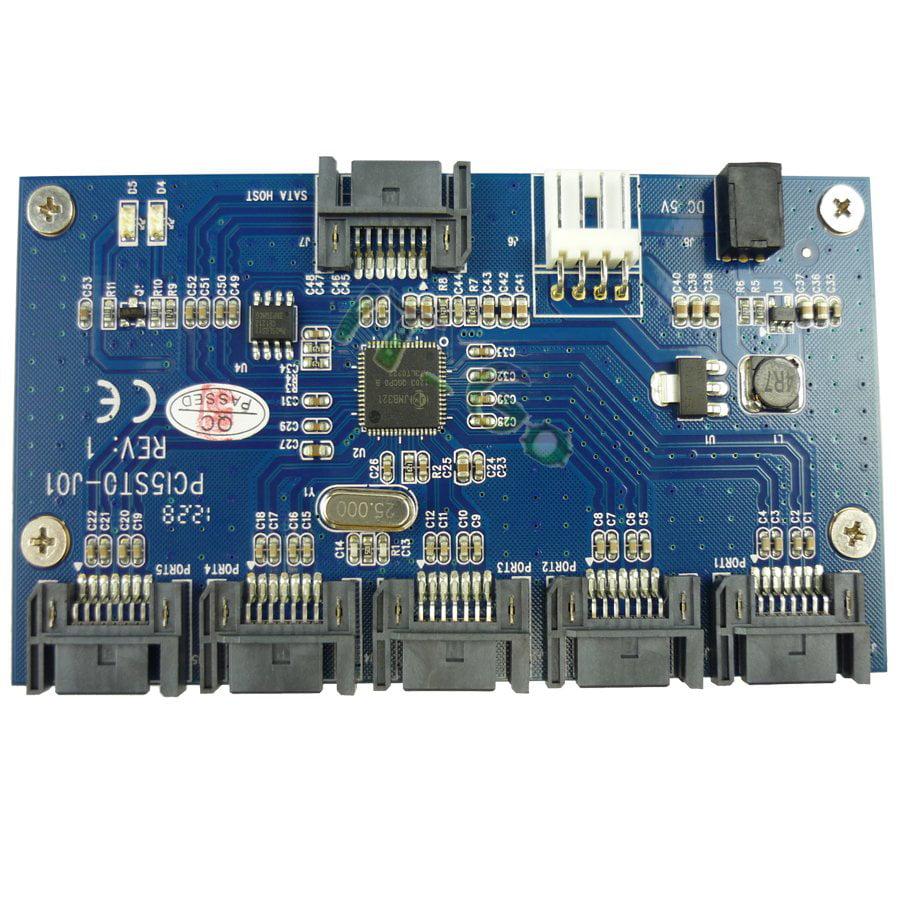 SATA 1 to 5 Port Multiplier Card