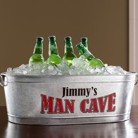 Personalized Man Cave Beverage Tub (Personalized Ice Bucket)