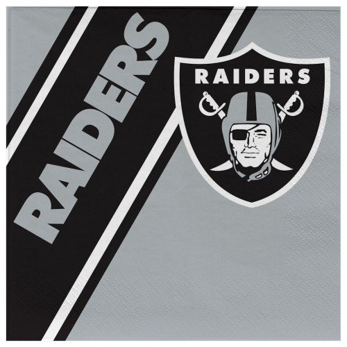 Oakland Raiders Disposable Napkins