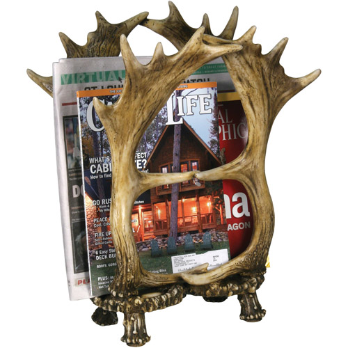 Rivers Edge Products Four Antler Magazine Rack