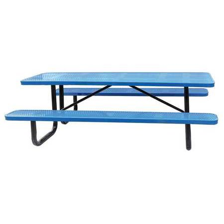 HUW W X D Picnic Table Blue Walmartcom - 96 picnic table