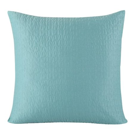 Ginny Euro Sham 100% Cotton 26 in. W x 26 in. L in Teal