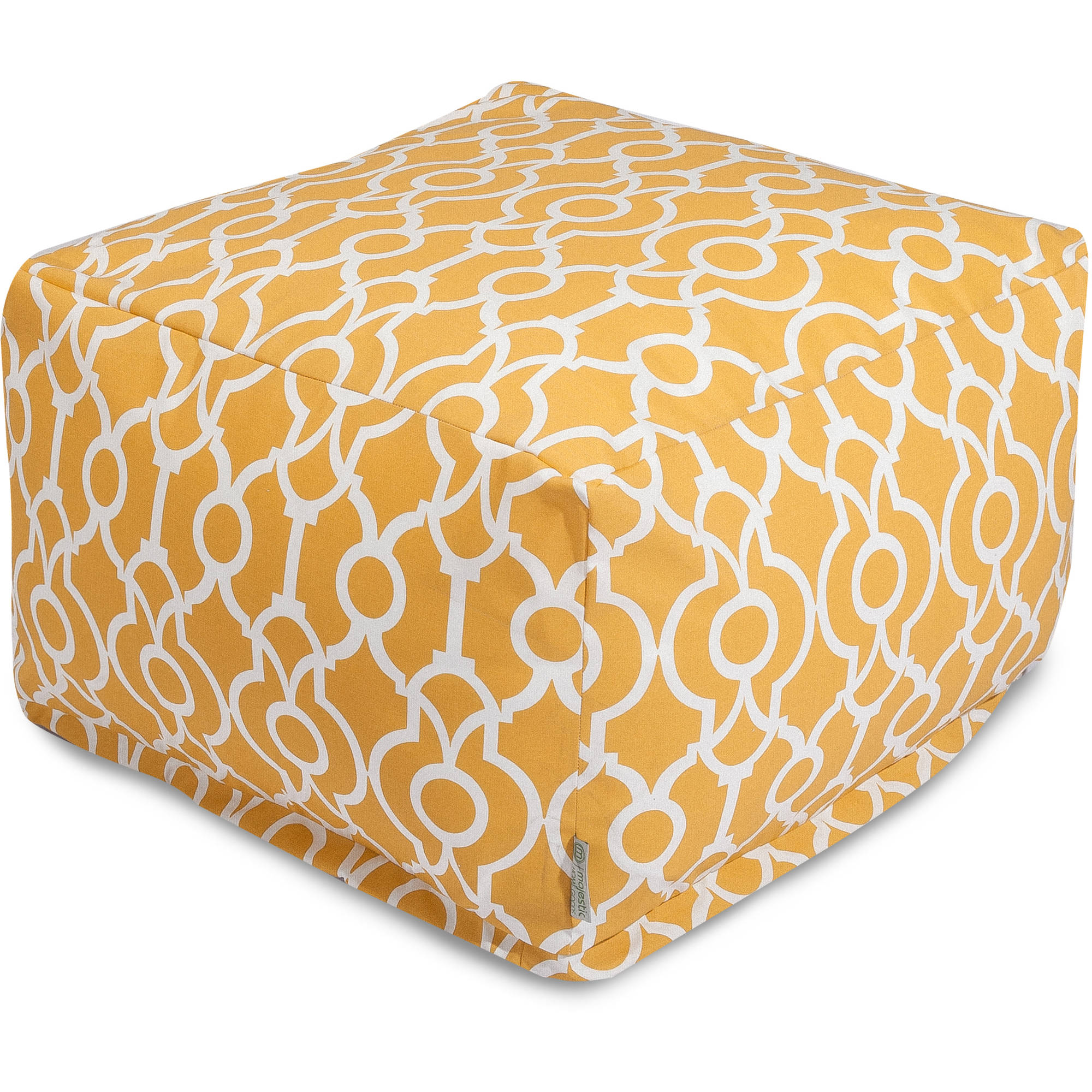 Majestic Home Goods Athens Ottoman, Indoor/Outdoor