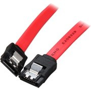 8IN LATCHING RED SATA CABLE