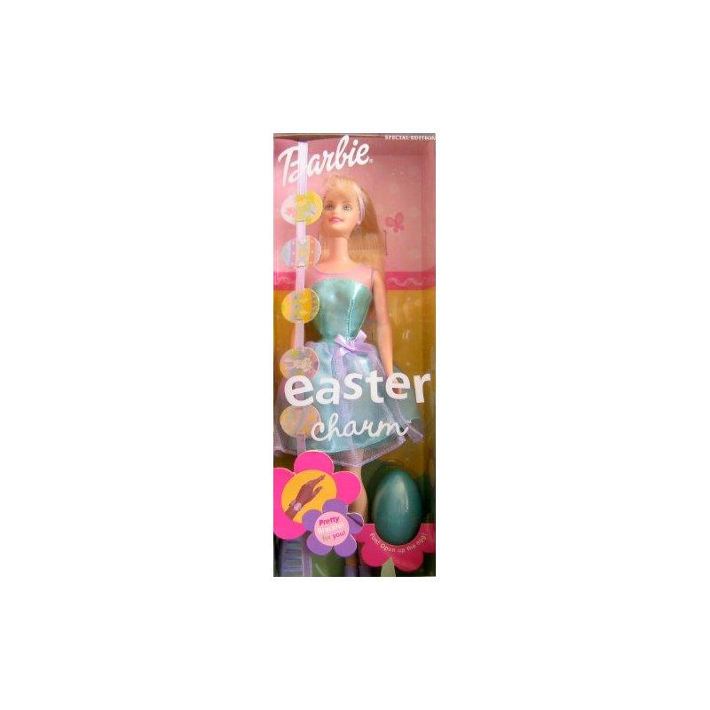 Mattel Easter Charm Barbie Doll Special Edition w Pretty Bracelet For You (2001)