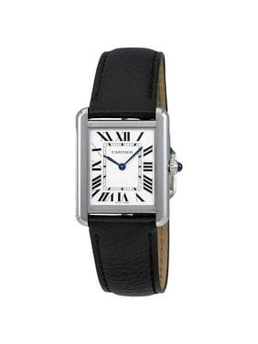 Cartier Tank Solo Silvered Light Opaline Dial Ladies Watch WSTA0030