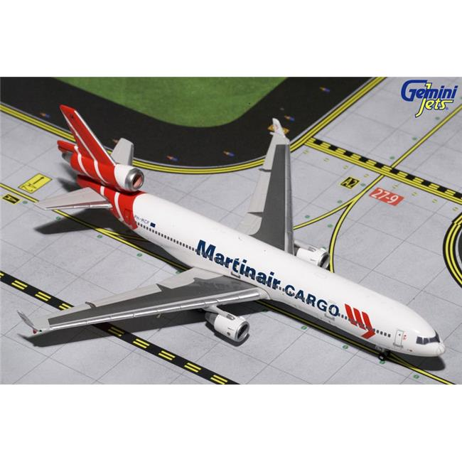 Gemini Jets 1-400 GJ1195 Final Flight Martinair Cargo MD-11CF 1-400 Scale Model Airplane