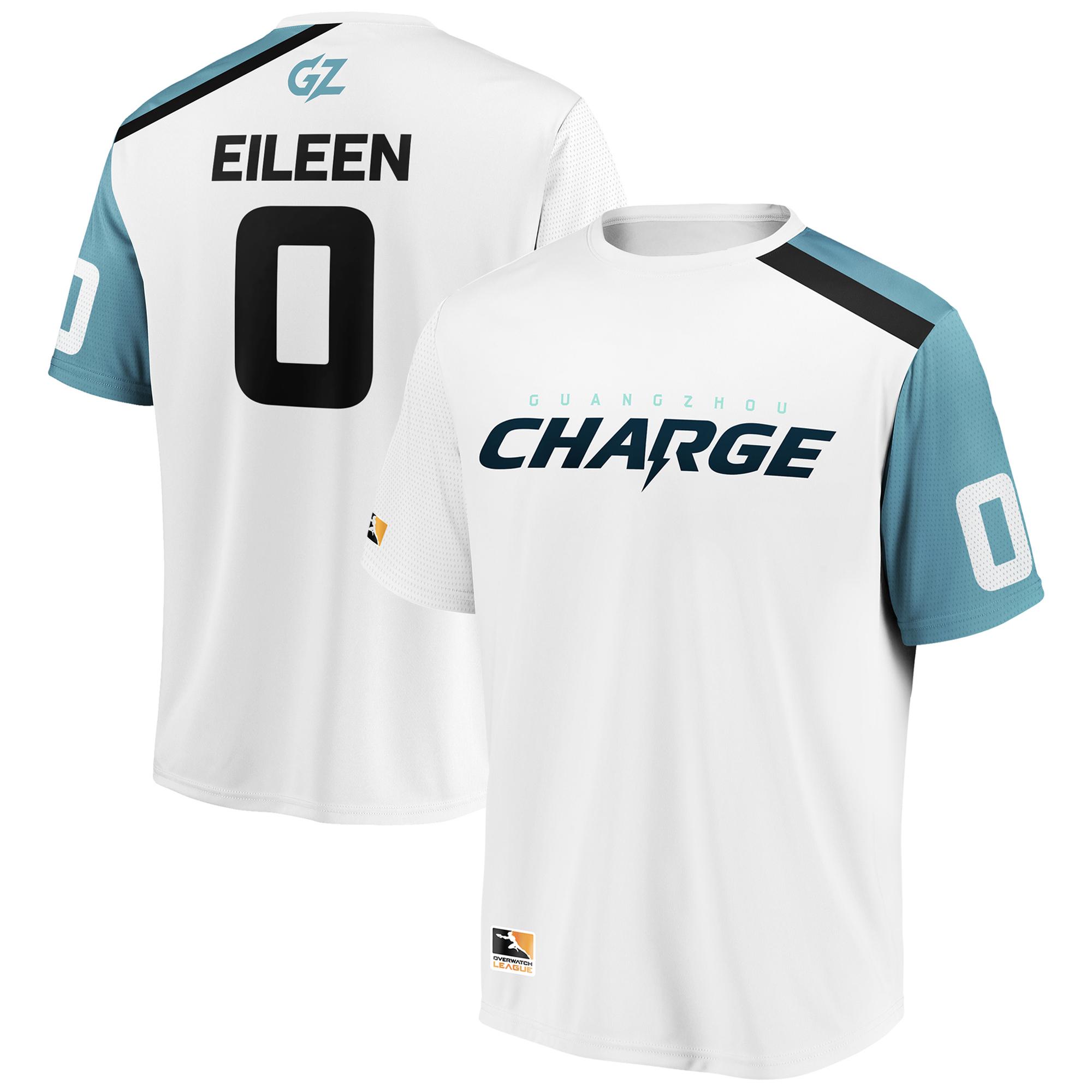 Eileen Guangzhou Charge Overwatch League Replica Away Jersey - White